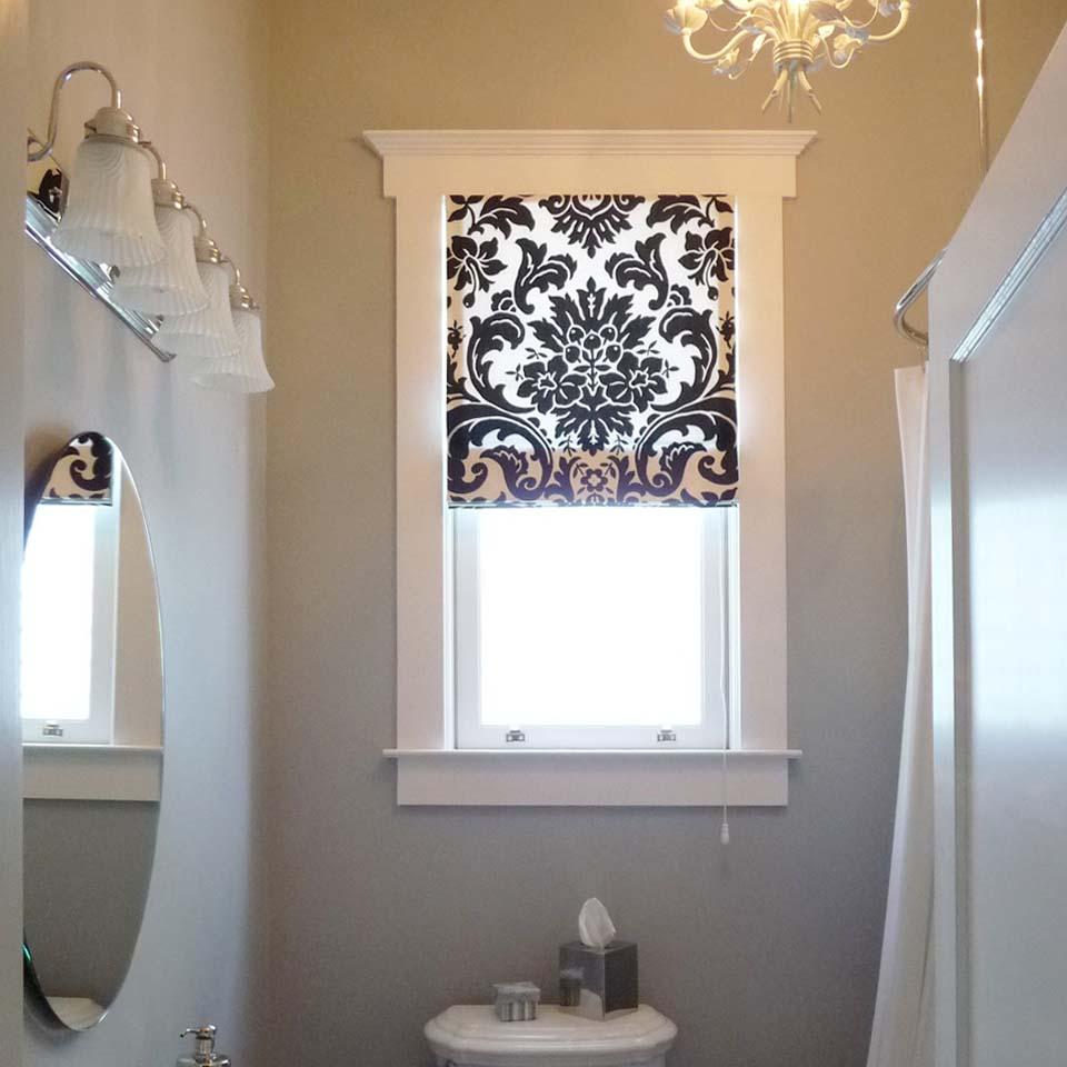 Окно в ванной комнате своими руками 212