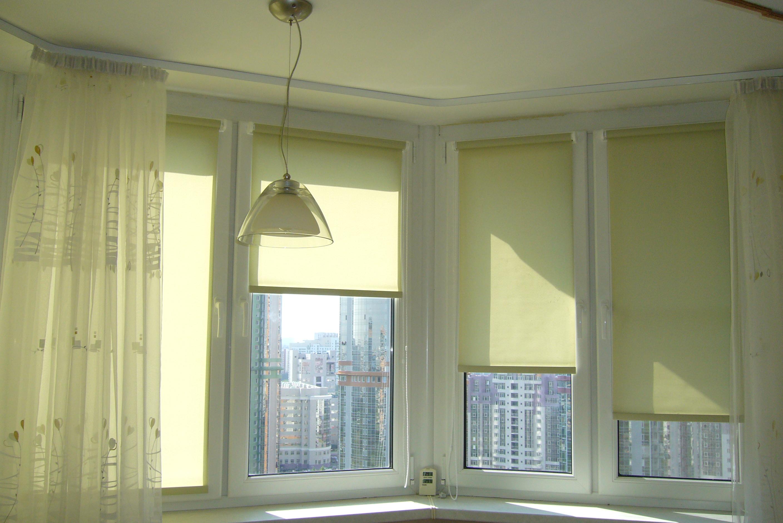какие рулонные шторы не пропускают свет