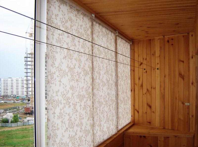 Какие жалюзи лучше для балкона?.