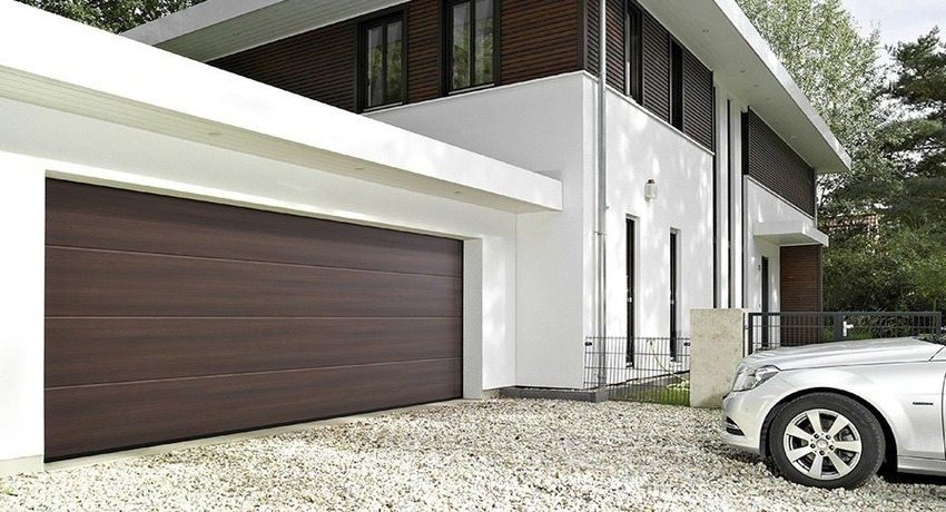 секционные гаражные ворота